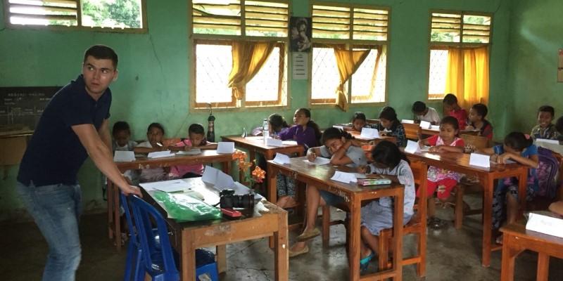 Vrijwilligerswerk op Flores lesgeven op Flores