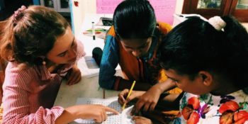 MAri in Sri Lanka lesgeven 2