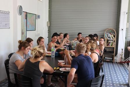 Reizen en vrijwilligerswerk accommodatie Galle groep