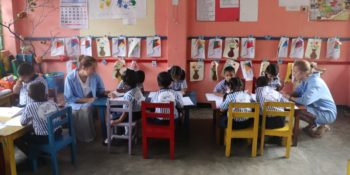 Sri Lanka Engelse les geven