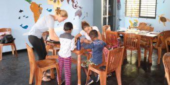 Sri Lanka Reizen en vrijwilligerswerk lesgeven in Galle school