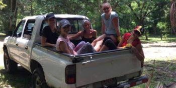 Kickstart Costa Rica Brenda en andere vrijwilligers 2