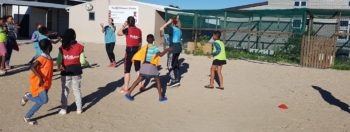 Vrijwilligerswerk Kaapstad Audrey Kaapstad is geweldig