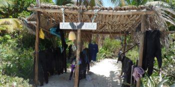 Mexico Marine Conservation droogrek voor duikpakken