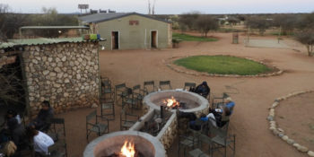Namibië Wildlife Research and rehab accommadatie