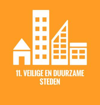De duurzame ontwikkelingsdoelen van de Verenigde Naties doel 11