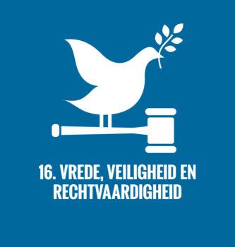 Duurzame ontwikkelingsdoelen Verenigde Naties doel 16
