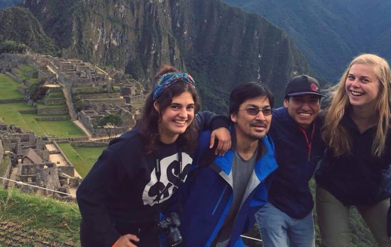 Terug uit Peru Breg bij Machu Picchu