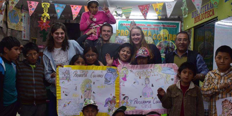 Terug uit Peru Breg vrijwilligerswerk