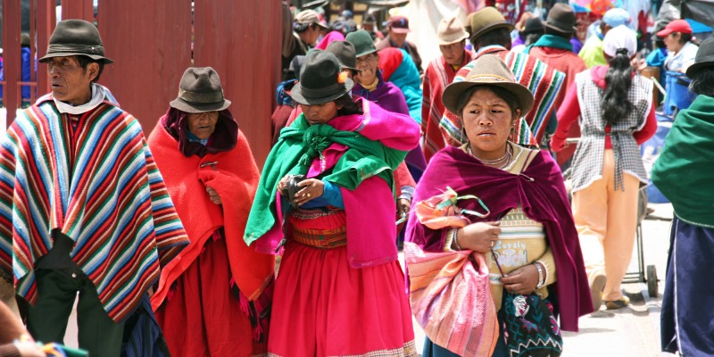 Ecuador voor professionals markt in Guamote