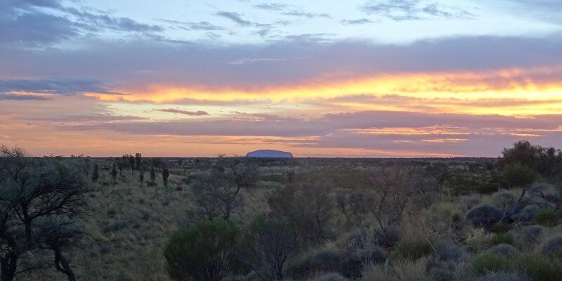 Au Pair in Nieuw-Zeeland bezoek aan Uluru