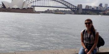 Eva met Harbour Bridge