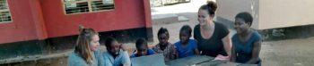 Vrijwilligerswerk Zambia Roos geeft les header