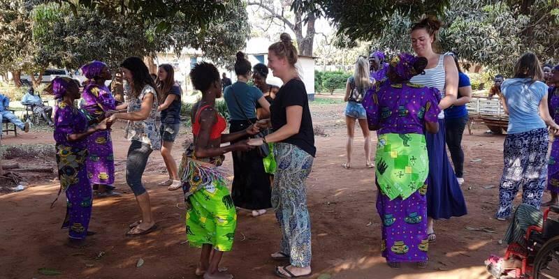 Vrijwilligerswerk Zambia dansles