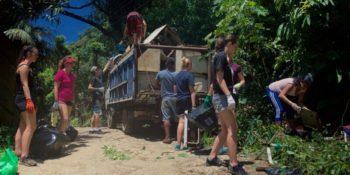 Costa Rica Break waste management