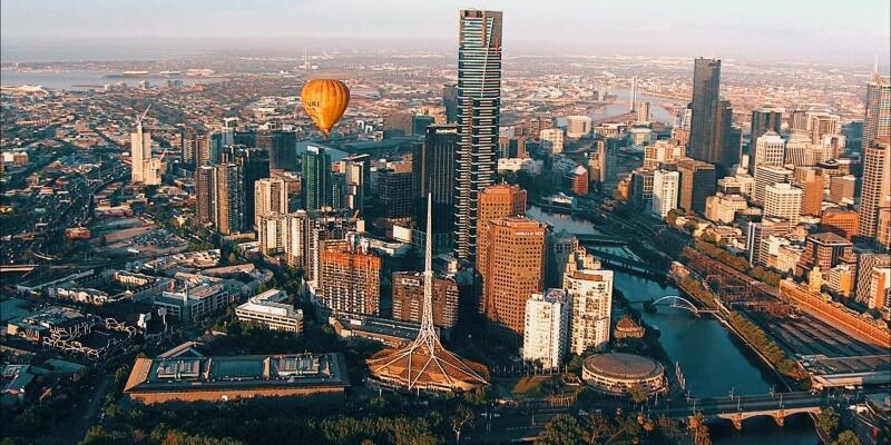 Kickstart Melbourne Skyline