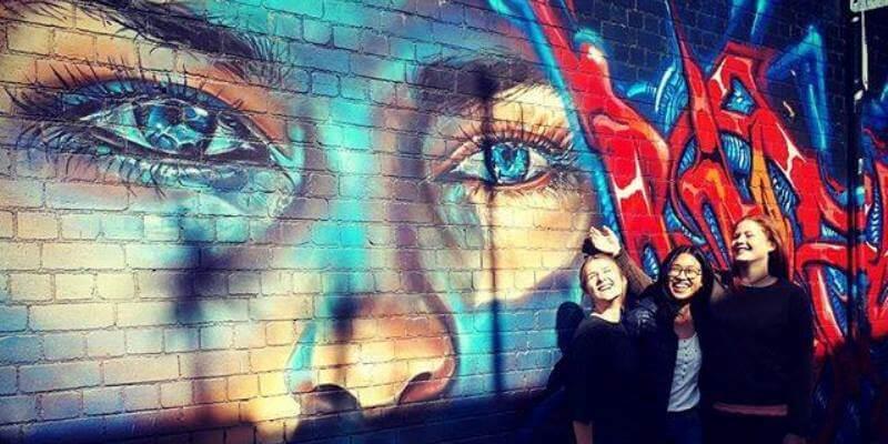 Kickstart Melbourne streetart