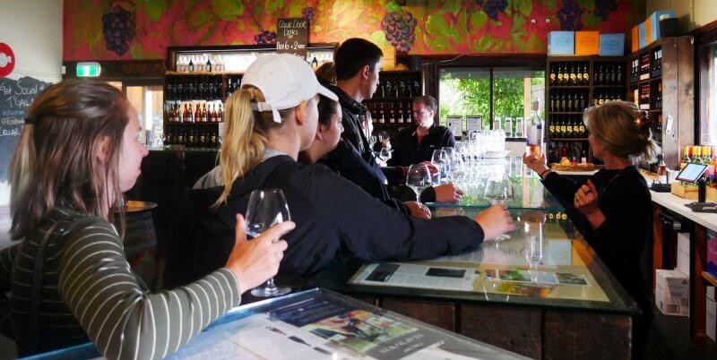 Kickstart Melbourne wine tasting