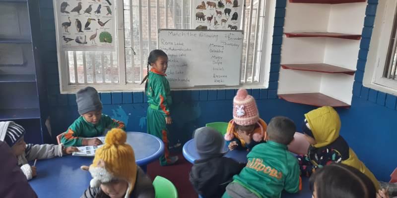Nepal - Verliefd op Nepal klasje