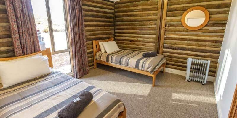 Kangaroo Island Wildlife Sanctuary accommodatie slaapkamer
