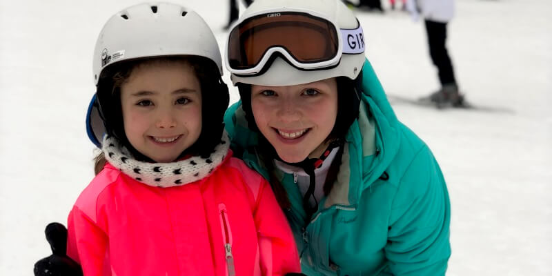 Au Pair in Amerika Amber op wintersport