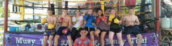 Centraal Thailand Thai boksing header