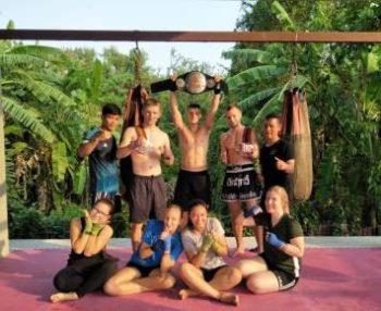 Centraal Thailand Thai boksing tegel