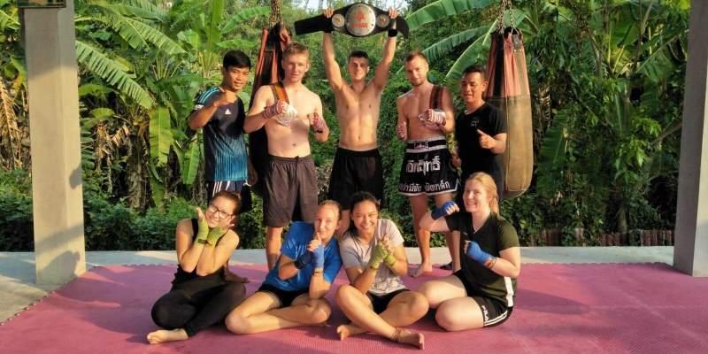 Centraal Thailand Thai boksing workshop Lotte 2