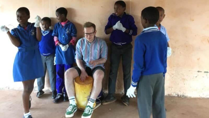 Koen in Swaziland
