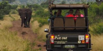 Koen in Swaziland safari