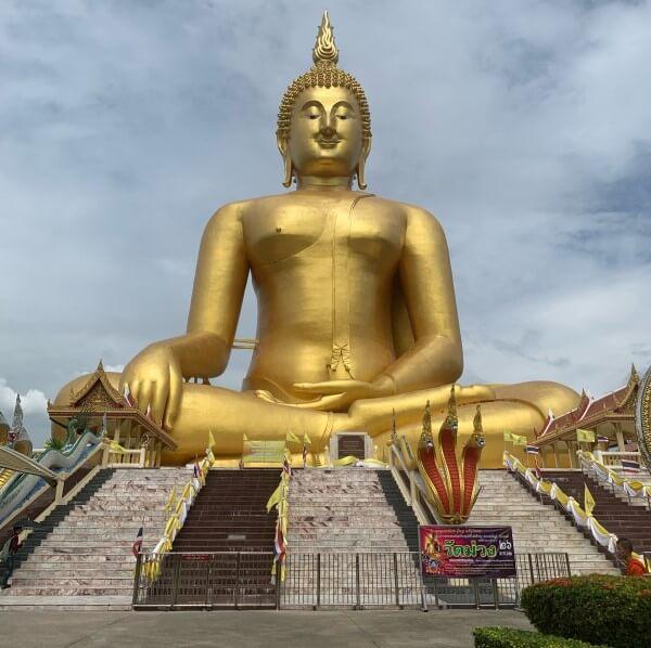 Mail uit Thailand Boeddha beeld
