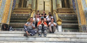Mail uit Thailand groepsfoto