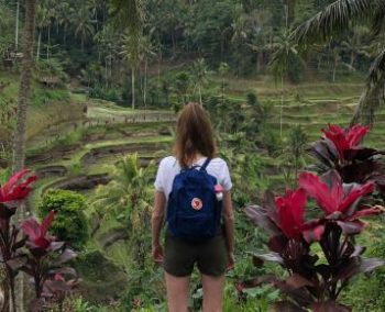 Een 10 voor Bali tegel