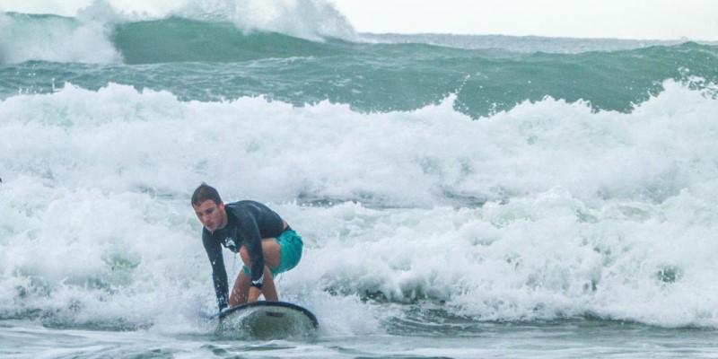 Kickstart Costa Rica Merlijn Surfing