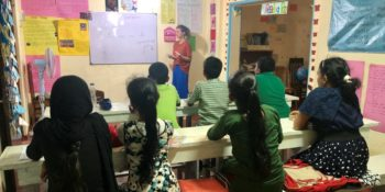 MAri in Sri Lanka lesgeven