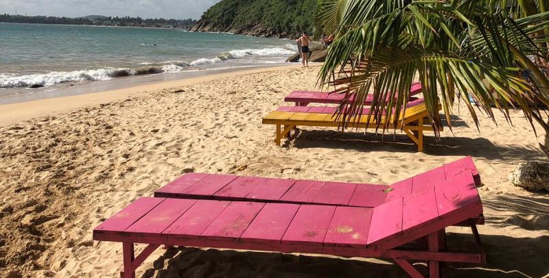 MAri in Sri Lanka strand