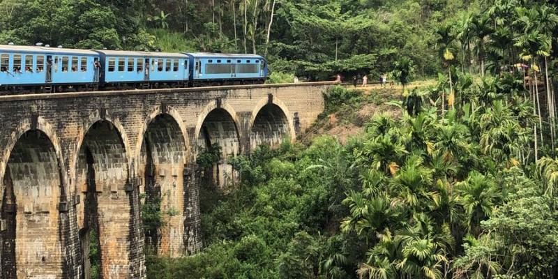 MAri in Sri Lanka treinreis