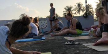 MAri in Sri Lanka yoga