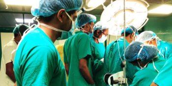 MAri in Sri Lanka ziekenhuis