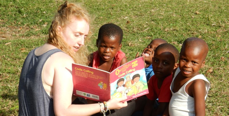 Zuid-Afrika Zululand reading club