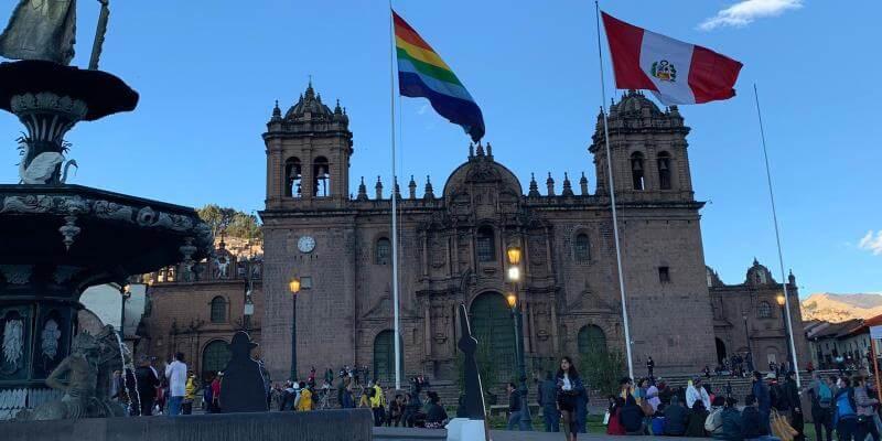 Naud in Peru Cusco