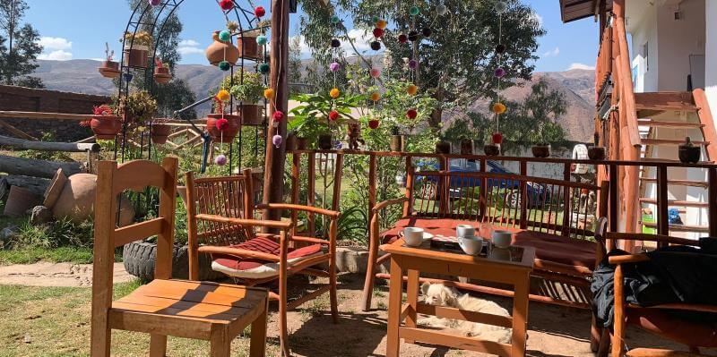 Naud in Peru talenschool