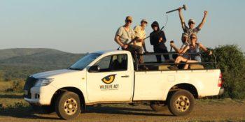 Conservation Training Course Leopard Survey Team