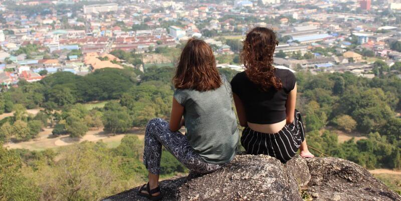 Isa in Thailand uitzicht