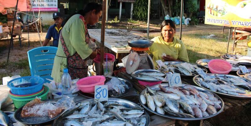 Isa in Thailand visvrouwtjes