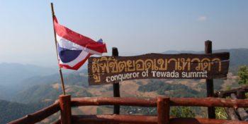 Isa in Thailand vlag thailand
