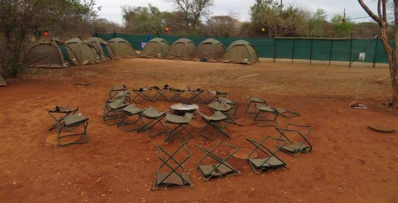 Kruger to Cape week 1 Krugerpark camp place