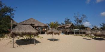 Kruger to Cape week 3 duiken in Mozambique accommodatie