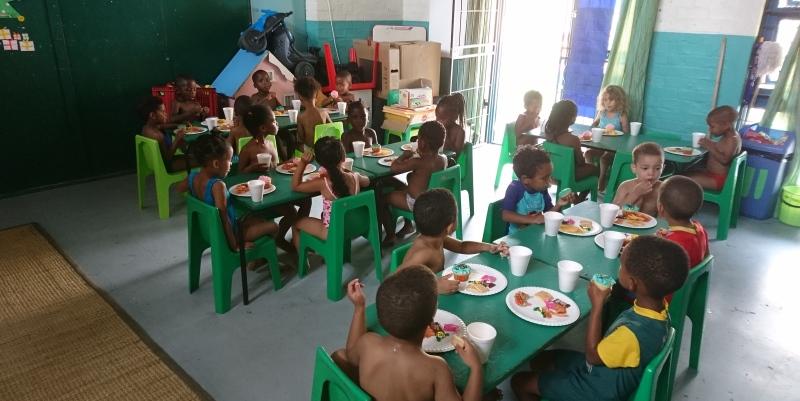 Kruger to Cape week 9 en 10 Vrijwilligerswerk Eindejaarsfeest 2