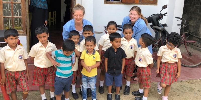 10 weken Sri Lanka Engels Klasje